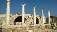 Tripolis ancient city at Denizli/Türkiye
