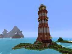 Pretty cool lighthouse