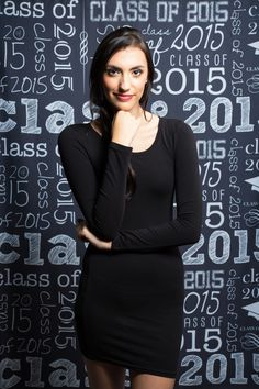 Have a December graduate? Show them off with this Class of 2015 Printed Backdrop from Backdrop Express! Graduation Portraits, Graduation Photography, Senior Portraits, Chalkboard Print, Backdrops, December, Printed, Inspiration, Dresses