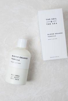 The Soil & The Sea Body Lotion - Blood Orange Vanilla