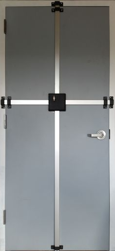 4840 High security surface applied multi-point lock.