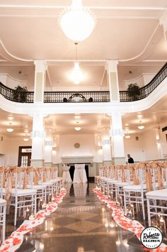 ceremony room at Bride gets ready at Monte Cristo Ballroom In EVerett WA