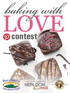 Show us what Baking With Love means to you by creating your own Pinterest board featuring your favorite Valentine's Day treats. Enter your board into our Baking With Love contest by February 14 for a chance to win great prizes from King Arthur Flour. CLICK ON THIS PIN TO LEARN MORE! #bakingwithlove