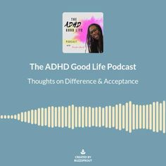 Adult adhd, self talk, self help, being different, intersectionality Adult Adhd, Self Talk, Acceptance, Life Is Good, Medical, Thoughts, Life Is Beautiful, Tanks, Active Ingredient