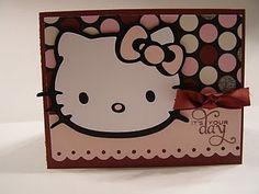 Hello Kitty Card - Hello Kitty Greeting