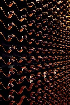 Giant Steps / Bergman & Co – Wine World Wine Rack Wall, Wine Wall, Wine Racks, Wine Shelves, Wine Storage, Bar A Vin, Giant Steps, Home Wine Cellars, Wine Cellar Design