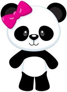 transparent png kids panda party red frame designs pinterest rh pinterest com panda bear clipart images panda bear clipart png