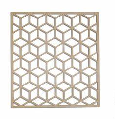 3D Cube Wall Art by Eye Grind Design #lasercut #homedecor #decorating #wallart #geometry #modern #wood #housewarminggift #square #cube #3d