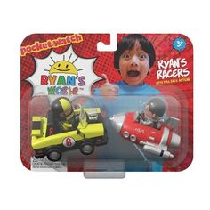 Bonkers Toy Co LLC Ryan's World Ryan's Racers Pull Back Vehicle, Multicolor Evil Pranks, Ryan Toys, Derby Cars, Indie Scene, Braids For Kids, Pinewood Derby, Emergency Vehicles, Toys For Girls, Race Cars