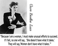 Clare Boothe Luce quote.