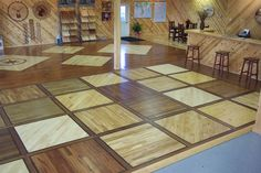 Woodstock Hardwood Flooring Showroom, Birnamwood, Wisconsin.  www.woodstockflooring.com