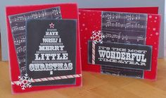 Beth's Little Card Blog: Chalkboard Christmas cards