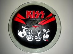 Kiss Band Birthday Cakes And On Pinterest
