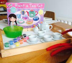 Day 23-Paint a tea set