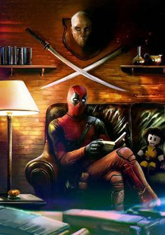 Deadpool pictures and jokes :: Marvel :: fandoms / funny pictures & best jokes: comics, images, video, humor, gif animation - i lol'd Comic Book Characters, Marvel Characters, Comic Character, Fictional Characters, Marvel Dc Comics, Marvel Heroes, Marvel Avengers, Spiderman Marvel, Deadpool Art