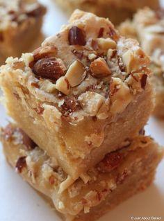 Almond Marzipan Cookie Bars! #marzipan