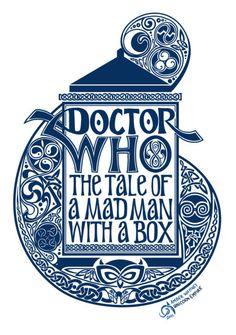 Les tags les plus populaires pour cette image incluent : doctor who et mad man with a box