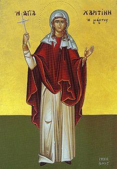 St. Charitina of Amisus - October 5th
