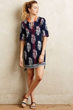 Taquile Shift - anthropologie.com
