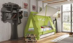 The perfect sleepy hideaway: tent bed, as featured on Bobby Rabbit