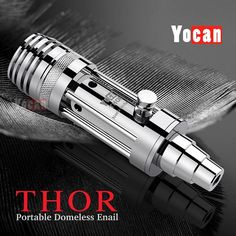 http://www.shoppingkidstoys.com/category/vaporizer/ Yocan Thor Portable eNail Wax and Dry Herb Vaporizer Kit