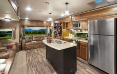 Fifth Wheel Trailers, Living Room, Home Living Room, Drawing Room, Lounge, Family Rooms, Dining Room, Family Room, Living Rooms