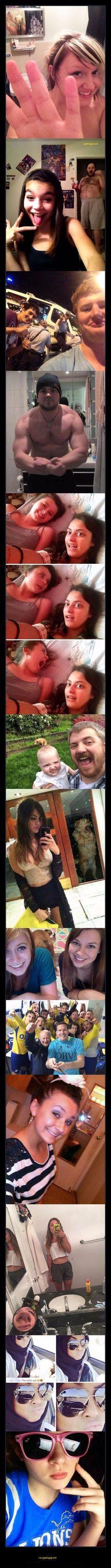 Funny Selfies Gone Wrong
