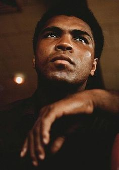 one of the most beautiful portraits of a young Ali I've ever seen.