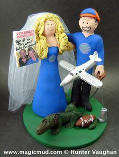 Wedding-Cake-Topper-for-Football-Fans  www.magicmud.com 1 800 231 9814 magicmud@magicmud... blog.magicmud.com twitter.com/... www.facebook.com/... $235 #wedding #cake #toppers #custom #personalized #Groom #bride #anniversary #birthday#weddingcaketoppers#ohio-state#cake-toppers#figurine#gift#wedding-cake-toppers #football#NFL#NCAA#NCFL#collegeFootball#quaterback#athlete#cheerleader#university-football#footballTeam#superbowl