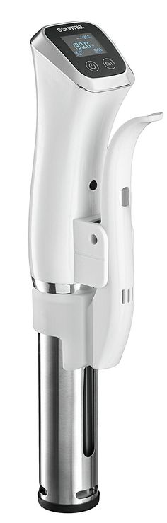 Gourmia GSV140 Immersion Sous Vide Pod 2nd Generation Circulator Precision Cooker Ergonomic Sleek Designed, Digital >>> This is an Amazon Affiliate link. You can get additional details at the image link.