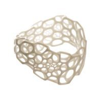 wave bracelet by Nervous System $80.00 Maybe something for 3D Printer Chat?