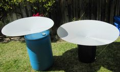 RainSaucer™ is a rain barrel accessory that allows you to harvest rainwater...  - Cleanly: with a cleanable, food safe catchment system.  - Simply: it sets up in 10 minutes with no tools required.  - Anywhere: you can place the barrel wherever there is rain falling. No gutters required.