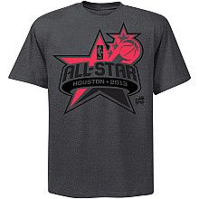 NBA Exclusive Collection 2013 NBA All Star Neon Color Pop T-Shirt