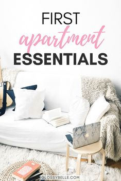 If you're about to move out into your first apartment, here are the most important apartment essentials you'll need to be ready to move out on your own. adulting | move out for the first time | moving out | independence | college essentials | college dorm | room essentials | home decor
