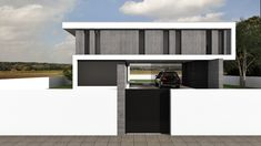 Projeto Rubi Architecture, Garage Doors, Outdoor Decor, Projects, House, Portugal, Home Decor, Building Homes, Trendy Tree