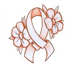 lung cancer ribbon tattoos | Cancer Ribbon Tattoo Designs