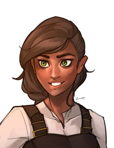 Here's a portrait of Ava. It was supposed to be a quick sketch but having come off a week of not drawing, it took much longer to get back in the groove. Also, my goal for the new year is to keep a consistent look for my characters.