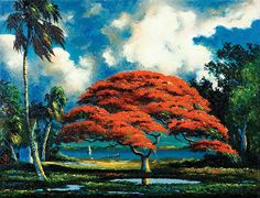 Artist A.E. Backus' Legacy Lives On Through Exhibition Featuring Works By The Florida Highwaymen
