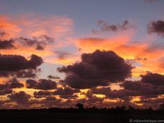Sunrise from the Sebastian Airport