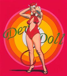 """Ausstellungstip: """"Mel Ramos - My Age of POP"""", 22. März bis 17. Mai 2015, Ludwig Museum Koblenz - Museum für moderne französische und internationale Kunst."""