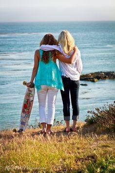 Summer Weather! #photography #longboard #girls #friends #beach #ocean #california #skateboard