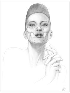 Memento Mori II Giclee Print / anatomyboutique.com