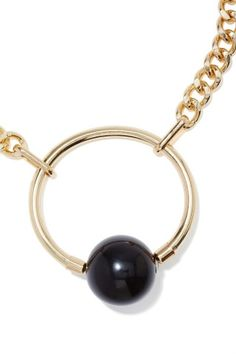 Ring My Ball Necklace, this is a really affordable option for a statement necklace!