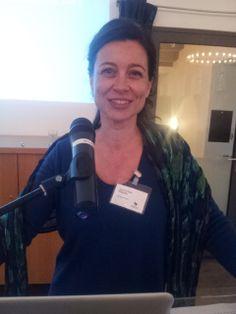 Suzanne Buis. Symposium 'De kunst van het schrijven', Centraal Museum, Utrecht, 29-11-2013.