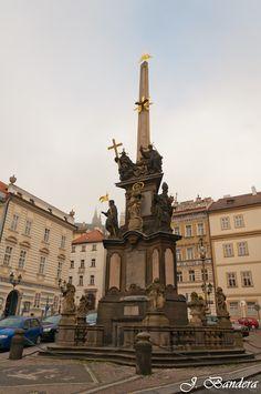 Las Fotografías de Bandera: La columna de la Santísima Trinidad en Praga