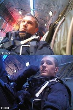 Getting ready to skydive?  I would actually consider trying it if Tom was doing it with me lol!