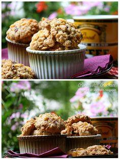 แ ม่ ค รั ว จ อ ม มั่ ว นิ่ ม : คุ๊กกี้คอร์นเฟล็ก-ข้าวโอ๊ต-ลูกเกด : cornflakes oat raisin cookies