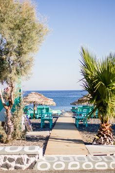 Santorini: Discover Red Beach, the black sands of Kamari Beach and hippie bar Tranquilo in Perissa, all by quad bike. Perissa Santorini, Santorini Greece, Kamari Beach, Red Beach, Black Sand, Beach Holiday, Coastal Style, Touring, Seaside