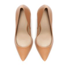 Zara Leather Court Shoe, £49.99