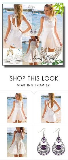 """""""Live Your Life /Simi Dress"""" by lightstyle ❤ liked on Polyvore"""